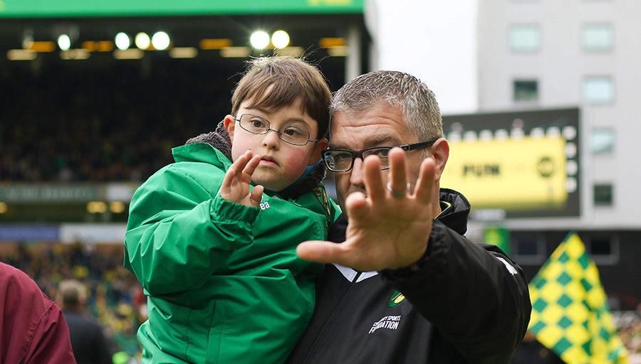 Experiences through Norwich City FC