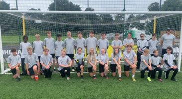 Youngsters get their first taste of coaching