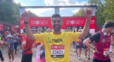 Simon Lappin London Marathon 2021